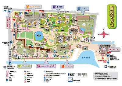 園内MAP | 京都市動物園